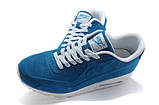Кроссовки женские Nike Air Max 90 VT 30393 синие, фото 4