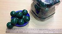 """Мячик-попрыгунчик /Мин.заказ 30шт/в уп.60шт/""""Арбуз"""" среднего размера."""