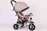 Велосипед-коляска Azimut T350 Crosser (надувное колесо) бежевый