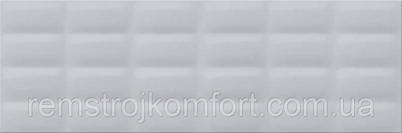 Плитка для стены Opoczno Vivid colours Grey glossy pillow 250х750