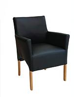 """Кухонное кресло """"Верона"""" (кофейный цвет+ножки коричн.)"""