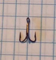 Крючок рыболовный тройной VMC №16