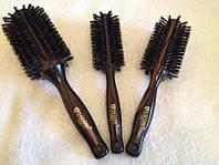 Деревянный брашинг с нательной щетиной для волос не продувной salon, фото 1