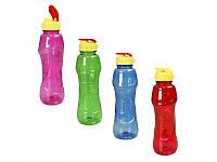 """Бутылка для воды с поилкой  """"Спорт"""" 750 мл."""