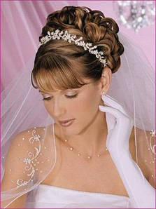 Прически на свадьбу и выпускные вечера