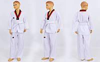 Добок кимоно для тхэквондо Mooto 5569, хлопок + полиэстер: 110-160см, плотность 190