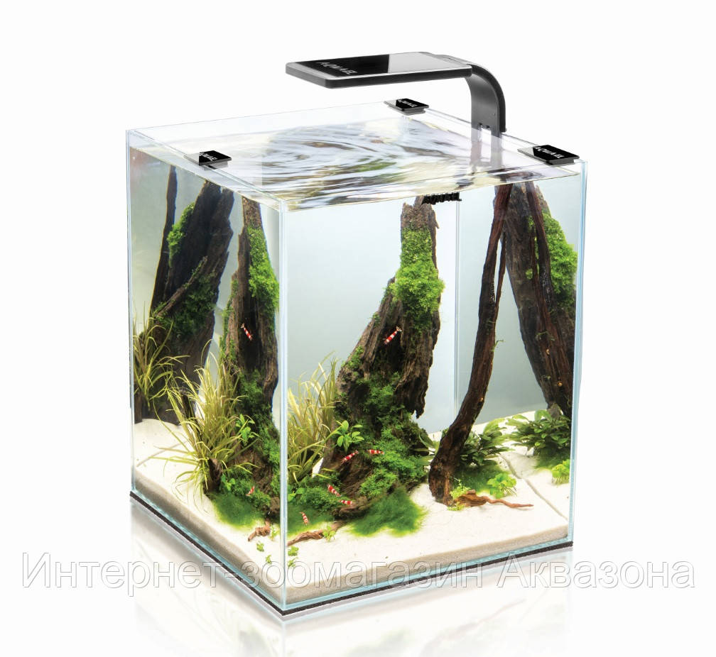 Aquael Shrimp Smart Set, 20 л (черный)