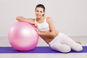 Мячи для фитнеса и пилатеса (фитболы)