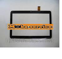 Сенсор тачскрин   Bravis NB106 3G черный 247x156 mm 51 pin