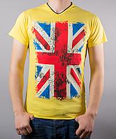 Яркая мужская футболка ФЛАГ от производителя