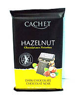 Шоколад Cachet Dark Chocolate Hazelnut 300гр. (Бельгия)