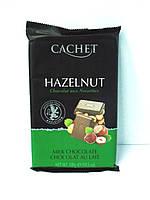 Шоколад Cachet Milk Chocolate Hazelnut 300гр. (Бельгия)