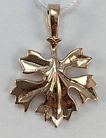 Кулон золотой 583 проба СССР