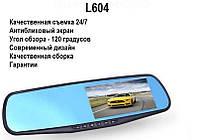 """Видеорегистратор зеркало L604 - Покрытие """"Антиблик"""". Украинская гарантия"""