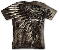 3D футболка двухсторонняя KRASAR-ИМПЕРИЯ (коричневая)