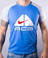 Молодежная мужская футболка-реглан ACG