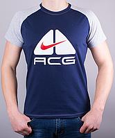 Мужская футболка-реглан ACG 100 % хлопок