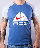 Качественная мужская футболка-реглан ACG