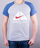 Крутая мужская футболка-реглан ACG