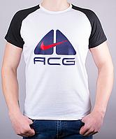 """Модная мужская футболка-реглан """"ACG"""""""