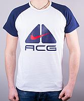 """Стильная мужская футболка-реглан """"ACG"""""""