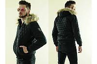 """Куртка мужская зимняя  на меху """"Аляска соты"""""""