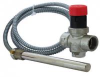 Клапан с выносным датчиком Т для защиты твердотопливных котлов от перегрева тип VST100, PN10,ESBE