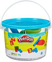 Ведерко пластилина с формочками Считалочка, Play-Doh