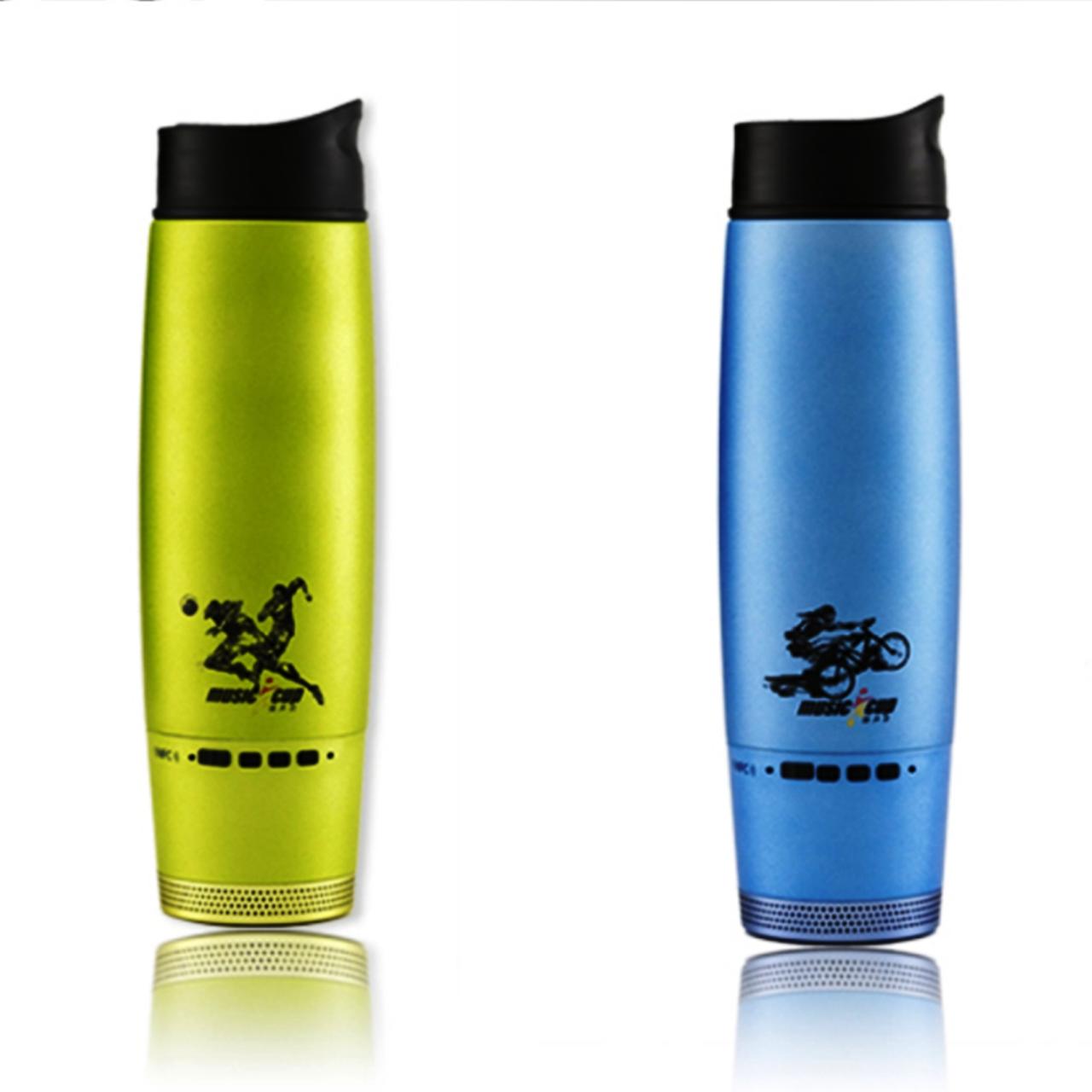 Спортивная бутылка - термос с беспроводной Bluetooth  колонкой 2 в 1