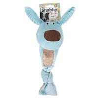 Karlie Flamingo Shabby Chic Dog Собака мягкая игрушка для собак с мячом и пищалкой