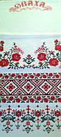 Рушник печатный  Сваха - орнамент, розы