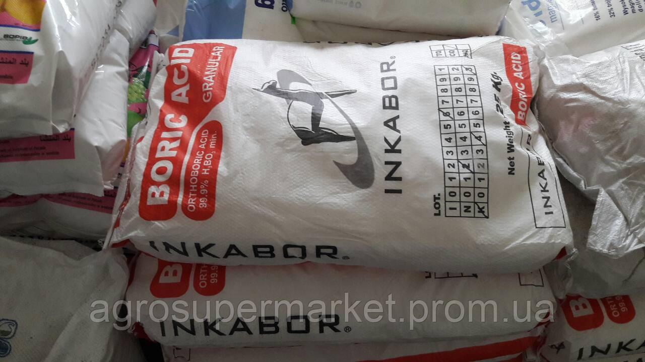 Борная кислота Bor10 на сою (Перу)  мешок 25кг - Агросупермаркет в Херсонской области