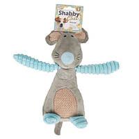 Karlie Flamingo Shabby Chic Mouse Мышь мягкая игрушка для собак с пищалкой