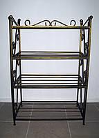 Кованая полка (этажерка) для обуви 4, фото 1