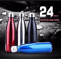 Спортивная термо бутылка Cola Vacuum Flask