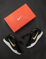 Женские кроссовки Nike Kobe 🔥 (Найк Коб) Бело-черные с золотым