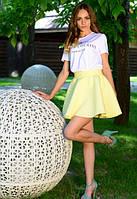 Яркая юбка солнце в расцветках x-t6111190