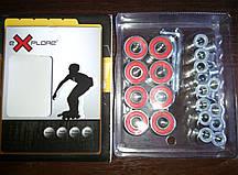 Подшипники для самоката,скейта ,роликов ABEC 5 + Alum Spaser amigosport