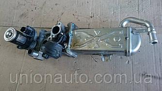 Клапан EGR з радіатором охолодження ОГ 1.6 TDI 2.0 TDI (VW , AUDI, SKODA, SEAT VW Caddy III)