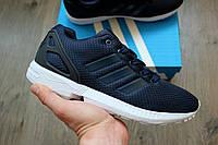 Мужские кроссовки Adidas Zx Flux 🔥 (Адидас зет икс Флю) Green-White