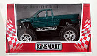 KINSMART Dodge Ram (Off Road), метал., инерц., в кор. /96-4/(KT5338W)