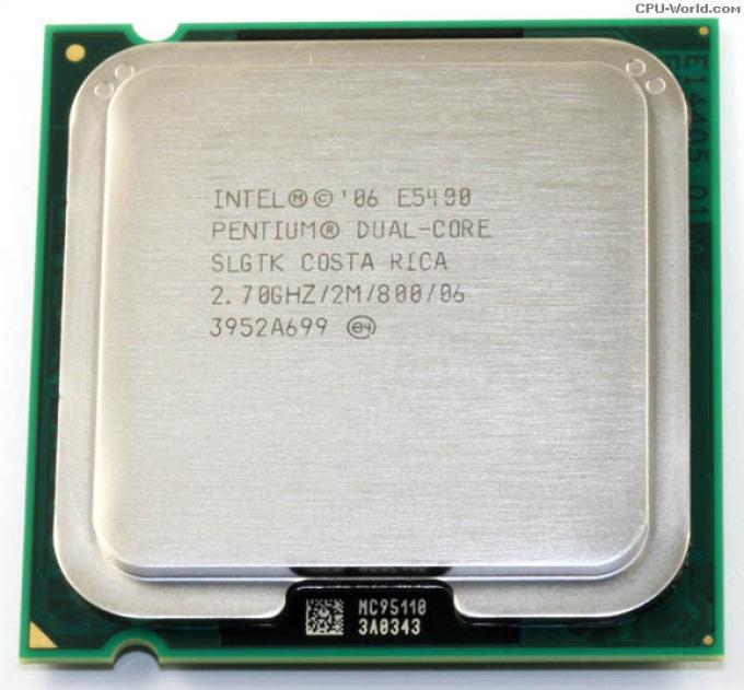Процессор Intel Core 2 Duo E5400 2,7 GHZ/2M/800 + термопаста в ПОДАРОК