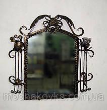 Зеркало в кованой раме Морское