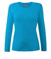 Женская футболка с длинным рукавом 205-ЗУ, фото 1