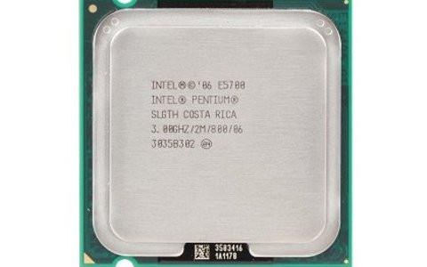 Процессор Intel Core 2 Duo E5700 3,0 GHZ/2M/800 + термопаста в ПОДАРОК