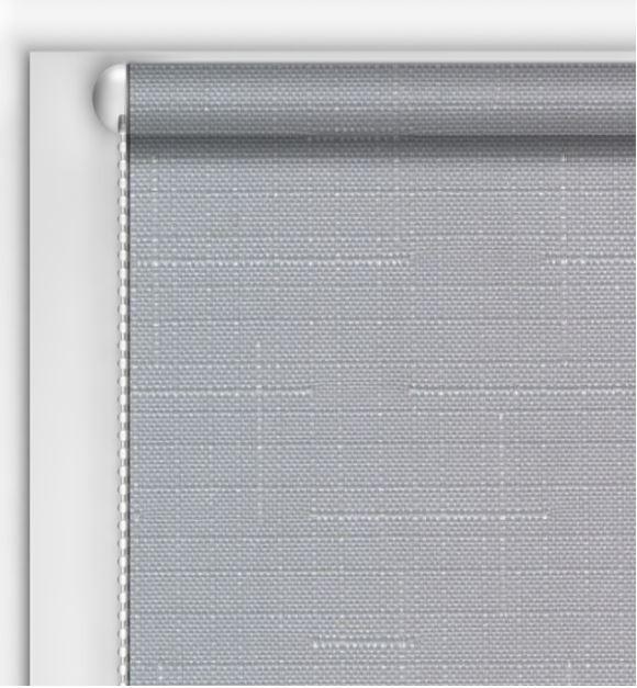 Рулонные шторы DIY Лен Серый