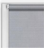 Готовые рулонные шторы Классические Лен Серый
