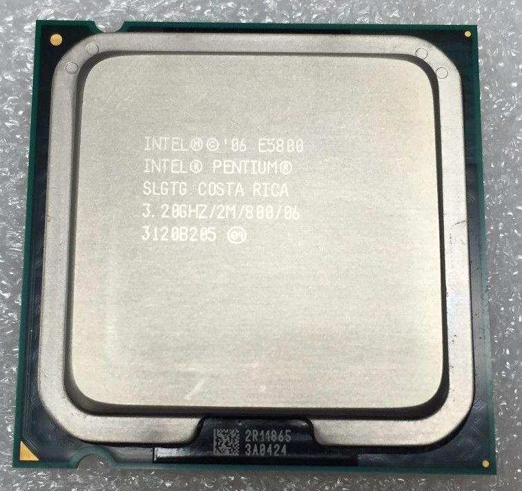Процессор Intel Core 2 Duo E5800 3,2 GHZ/2M/800 + термопаста в ПОДАРОК