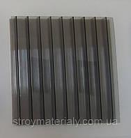 Сотовый поликарбонат 6 мм Polygal бронза