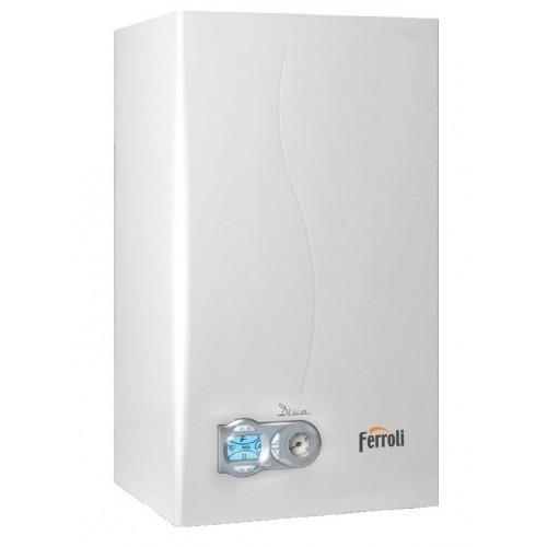 Котел газовый настенный FERROLI DIVA D C 24  дымоходный